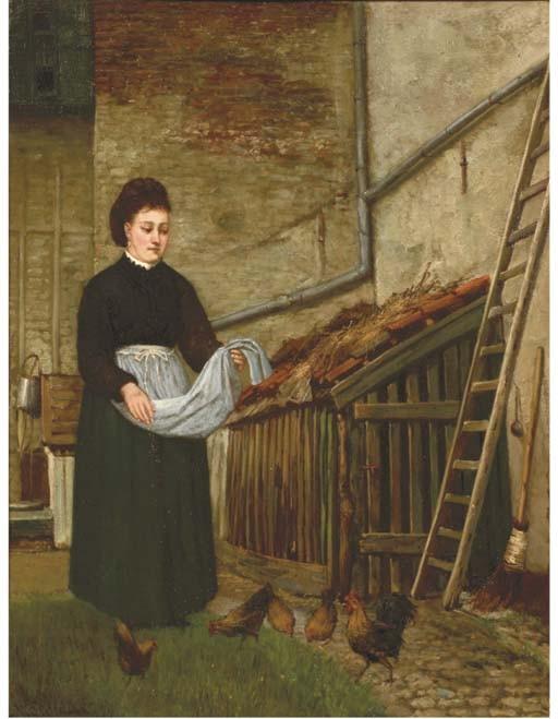 Nicolaas Steffelaar (Dutch, 1852-1918)