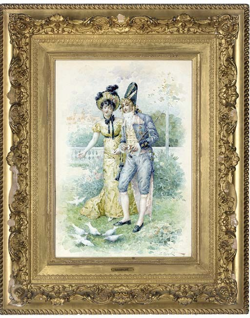Félix Courché (French, b.1863)