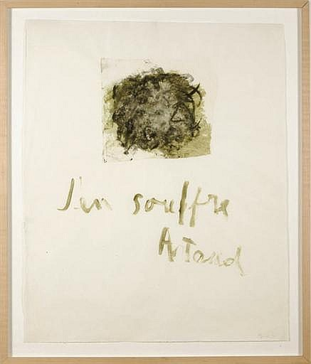 Untitled from the  Artaud Series