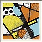 The Cyrenean helps Jesus Carry the Cross; the 5th Station from The Stations of the Cross: 14 paintings, Romero Britto, Click for value