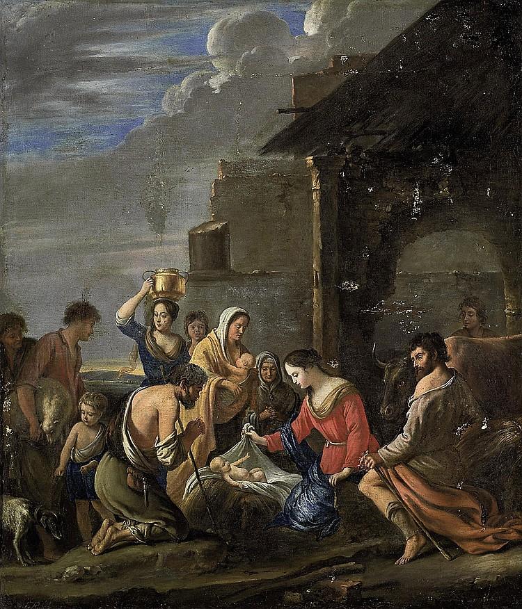 Attributed to Mathieu Le Nain (Laon  circa  1607-1677 Paris)