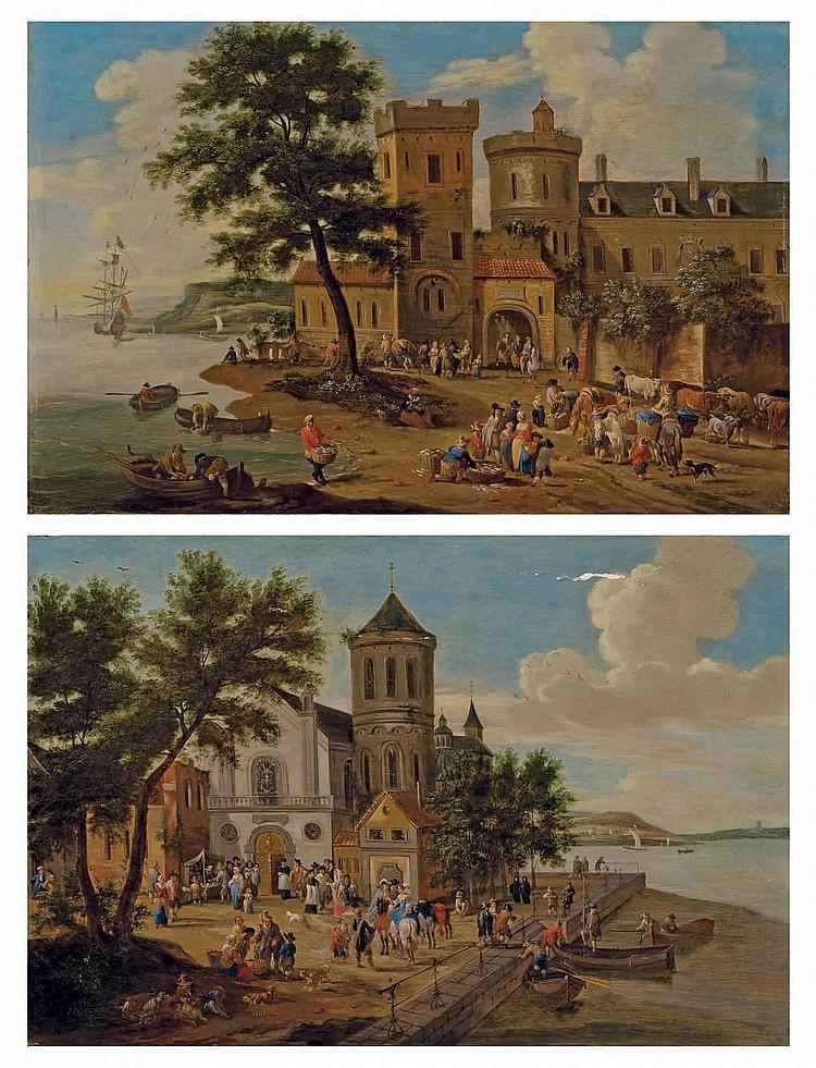 PIETER BOUT (BRUXELLES VERS 1640-1689) ET ADRIAEN FRANZ BOUDEWYNS (BRUXELLES 1644-1711)