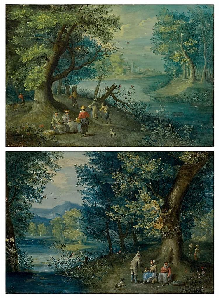 ATTRIBUE A ANTON MIROU (ANVERS VERS 1580-1652)