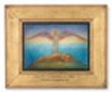 PHOEBE ANNA TRAQUAIR (1852-1936) Love, the Comforter of Night pencil, wate