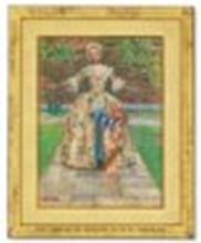 JOHN BYAM LISTON SHAW, A.R.W.S. (1872-1919) 'Love liketh not the falling f