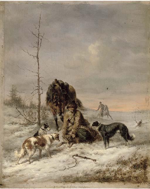 Wilhelm Amandus Beer (German, 1837-1907)
