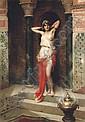 The harem beauty , Adrien Henri Tanoux, Click for value