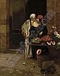 The orange seller , Rodolphe Ernst, Click for value