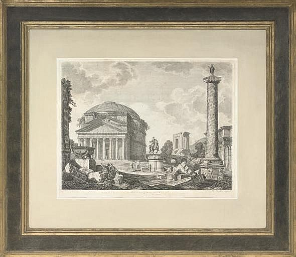 Johann Sebastian Muller (1715-1785), after Giovanni Paolo Pannini
