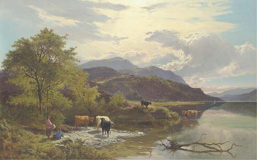 Sidney Richard Percy (1821-1886)