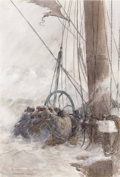 Arthur John Trevor Briscoe, R.S.M.A., R.I. (1873-1943)