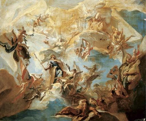 Carlo Innocenzo Carlone (Scaria 1686-1775 Como)