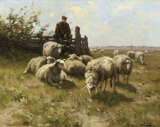 Johannes Karel Leurs (Dutch, 1865-1938)