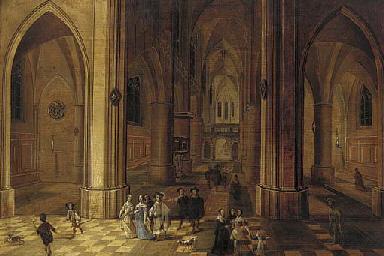 Pieter Neefs II (Antwerp 1620-1675?) and Jan van den Hoecke I (Antwerp 1611-1651)