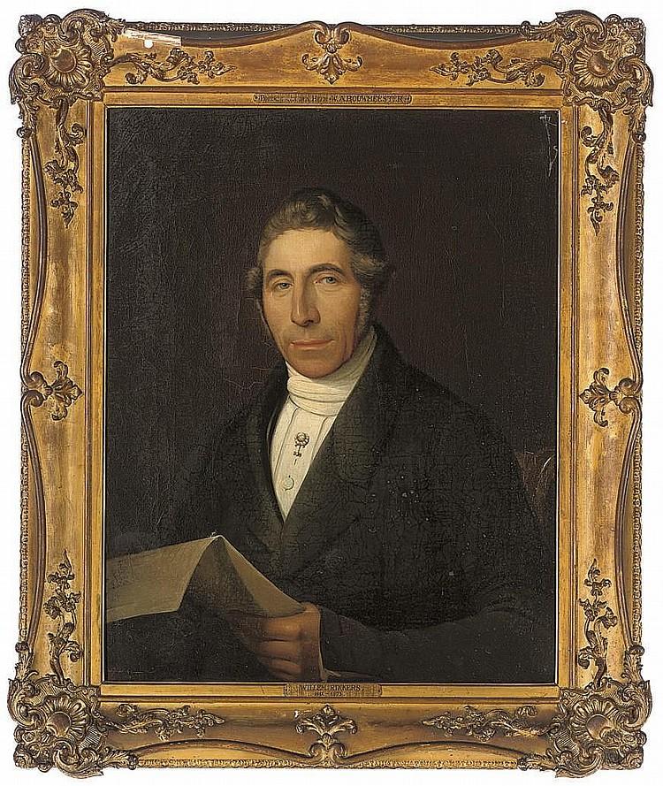 Willem Rikkers (DUTCH, 1812-1873)