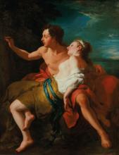 Jean-François de Troy (Paris 1679-1752 Rome) - Paris and Oenone