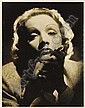 MARLENE DIETRICH SIGNED PHOTOGRAPH TO CLARK GABLE, George Hurrell, Click for value