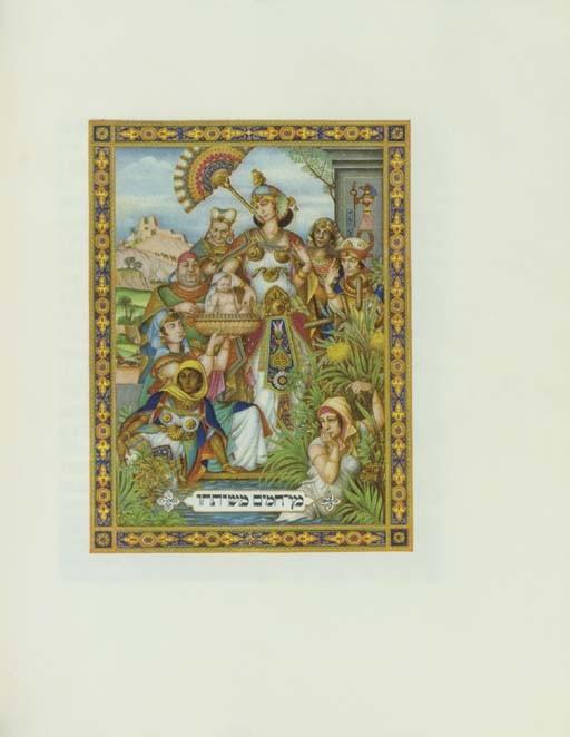 [HAGGADAH]. SZYK, Arthur (1894-1951, illustrator). <I>The Haggadah.</I> Edited by Cecil Roth.