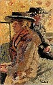 Mother and Daughter:  Lou Lou I Love you, Walter Richard Sickert, Click for value