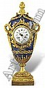 A French ormolu mantel clock, Alfred-Emmanuel-Louis Beurdeley, Click for value