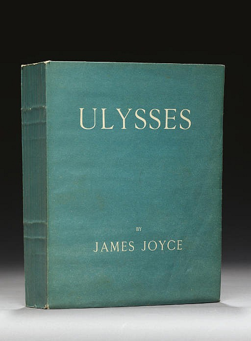 JOYCE, James (1882-1941).  Ulysses.  Paris: Shakespeare and Company, 1922.