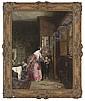 My lady and her children, John Callcott Horsley, Click for value