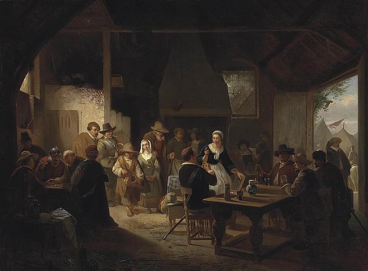 Willem Linnig the Elder (Antwerp 1819-1885)