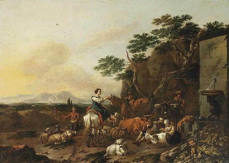 Jan Frans Soolmaker (Antwerp 1635-after 1665 Italy)
