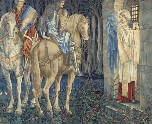 The Failure of Sir Gawain and Sir Ewain to achieve the Holy Grail