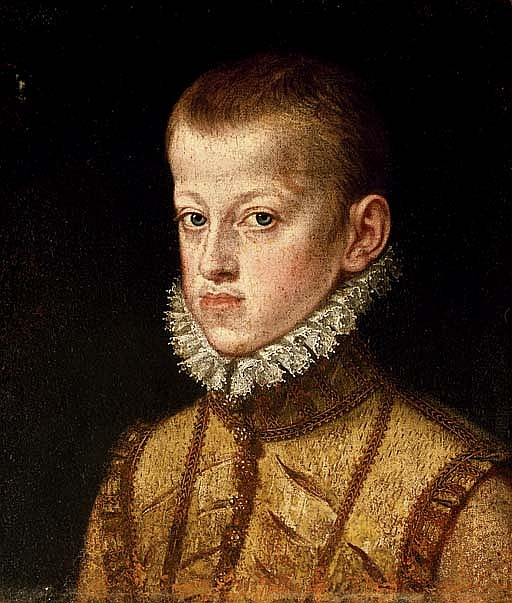 Portrait of Archduke Ernst of Austria, as a boy, bust-length