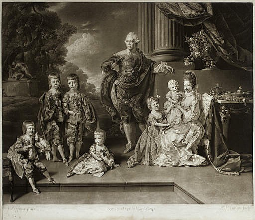 Their most Sacred Majesties George the III and Queen Charlotte