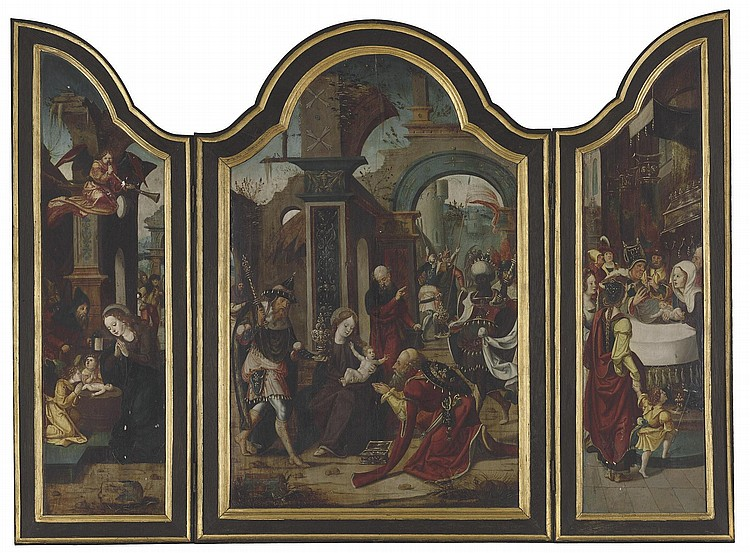 Circle of Pieter Coecke van Aelst I (Aelst 1502-1550 Brussels)