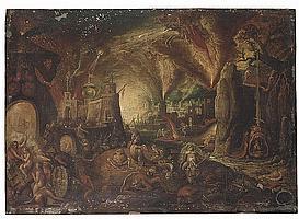 Attributed to Jacob Isaaczs. van Swanenburg (Leiden 1571-1638 Utrecht)