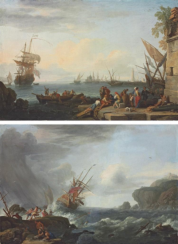 Adrien Manglard (Lyon 1695-1760 Rome)