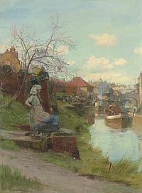 Charles William Wyllie (1853-1923)