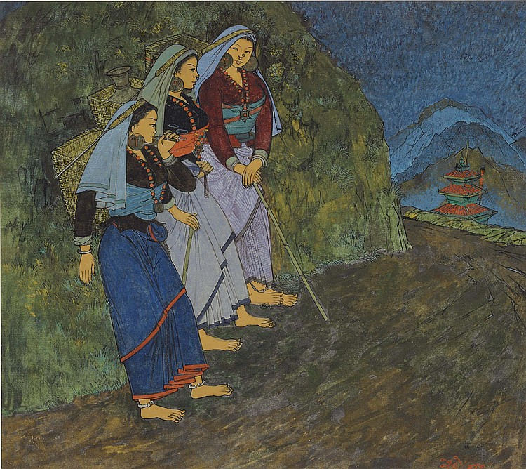 NARAYAN SHRIDHAR BENDRE (1910-1992)