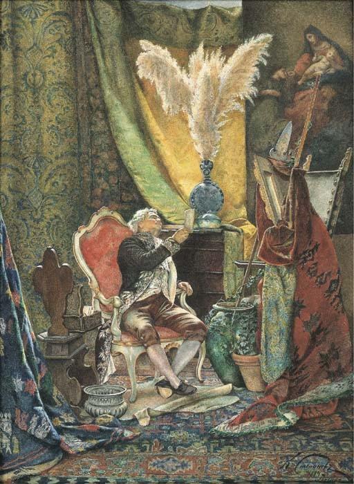 KLAWDI PETROVITCH STEPANOV (ECOLE RUSSE 1854-1910)