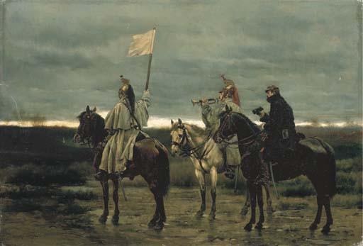 EDOUARD DETAILLE (PARIS 1848-1912)