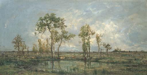 CHARLES LE ROUX (NANTES 1814-1895)