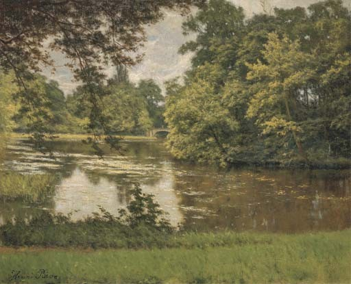 HENRI BIVA (PARIS 1848-1928)