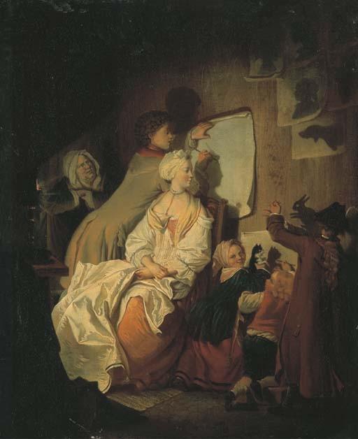 JOHANN ELEAZAR ZIEZIG, DIT SCHENAU (GROSS SCHONAU 1737-DRESDE 1806)