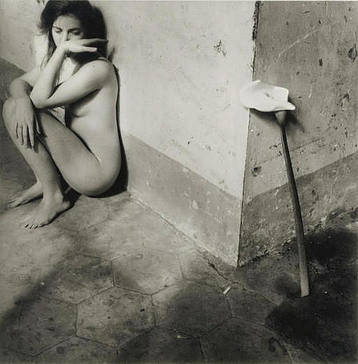 Self Portrait with Lily, Rome, 1977-78