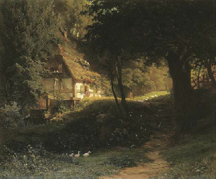 Ludwig Hugo Becker (German, 1833-1868)
