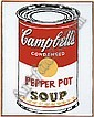 Andy Warhol (1928-1987), Donald Clarence Judd, Click for value