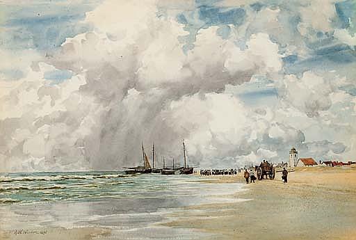 On the Dutch coast