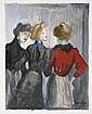[STEINLEN] -- FRANCE, Anatole (1844-1924).  L'Affaire Crainquebille. 63 compositions de Steinlen.  Paris: Pelletan, 1901. , Anatole France, Click for value