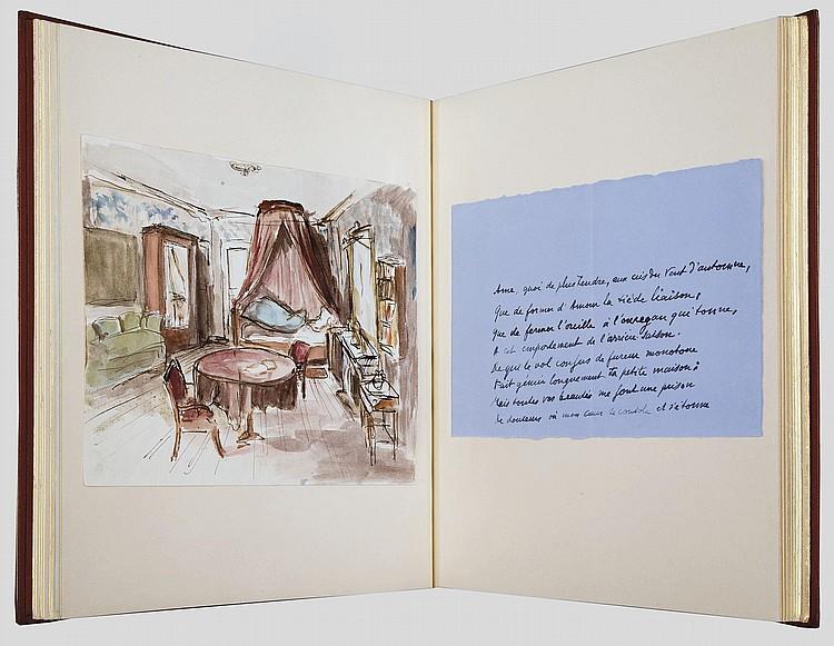 VALÉRY, Paul (1871-1945). Corona . Recueil de 24 poèmes, 7 autographes et 17 dactylographiés, non signés, composés entre 1938 et 1943. 21 d'entre eux sont restés inédits jusqu'à cette année.