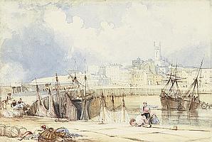 Attributed to Samuel Austin, O.W.S. (Liverpool 1796-1834 Llanfyllin)