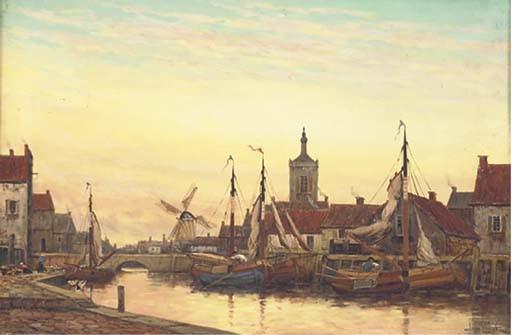 Jan van Couver (Dutch, 1836-1909)
