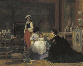 Charles Baugniet (Belgian, 1814-1886)